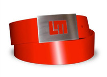 Loudmouth Golf Belt: Patent Leather - Red