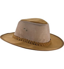 Dorfman Pacific Aussie Style Soaker Hat TAN - Large-X-Large