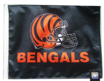 NFL Cincinnati Bengals 11in x 15in Golf Cart or Car Flag