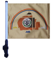 NAVAJO NATION 11x15 inch Golf Cart Flag with Pole