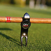 DIV Pro - Six Tools in One! Golf Divot Tool & Cigar Holder