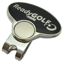 ReadyGolf - Guitar Pick Ball Marker & Hat Clip with Crystals