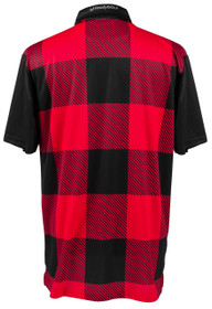 ReadyGOLF Mens Golf Polo Shirt - Lumberjack Red