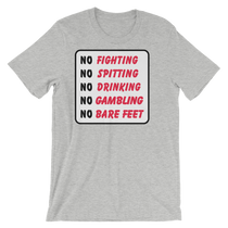 Caddyshack No Fighting Sign T-Shirt by ReadyGOLF