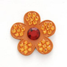 Bonjoc Flower Ball Marker & Hat Clip - FRENCH TULIP