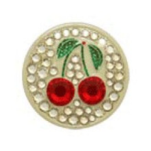 Bonjoc Ball Marker & Hat Clip - Cherries