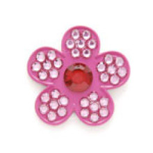 Bonjoc Flower Ball Marker & Hat Clip - CHERRY BLOSSOM