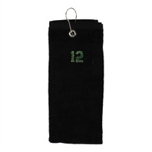 Dolly Mama Tri-Fold Golf Towel - 12th WoMan