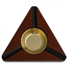 Triangle Design Cigar Ashtray - Holds 3 Cigar