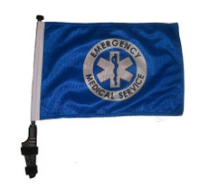 EMS 11x15 inch Golf Cart Flag with Pole