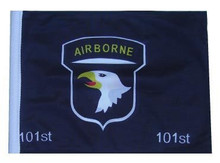 "Golf Cart Flags - 101st Airborne 11""x15"" Replacement Flag"