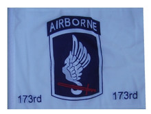 "Golf Cart Flags - 173rd Airborne 11""x15"" Replacement Flag"