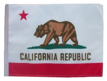 "Golf Cart Flags - CALIFORNIA 11""x15"" Replacement Flag"