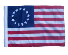 "Golf Cart Flags - BETSY ROSS 11""x15"" Replacement Flag"
