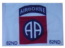 "Golf Cart Flags - 82nd AIRBORNE 11""x15"" Replacement Flag"