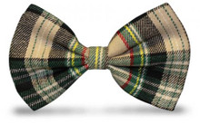 Golf Knickers Men's Par 5 Cotton/Ramine Plaid Bowtie