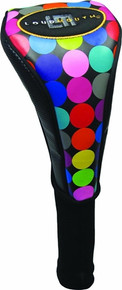 LoudMouth Golf Headcover Driver - Disco Balls Black
