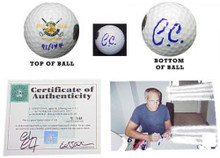 Chevy Chase Signed Caddyshack Golf Ball CC-GBLE
