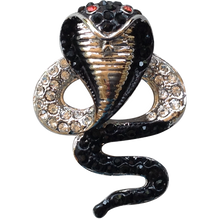 ReadyGolf - 3D Cobra Snake with Crystals Ball Marker & Hat Clip