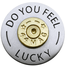 ReadyGolf - Do You Feel Lucky 44 Magnum Ball Marker & Hat Clip