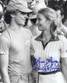 "Cindy Morgan ""Lacey Underall"" Signed 8x10 Caddyshack Photo - Lacey & Danny"
