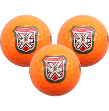 Caddyshack - Bushwood Logoed Golf Balls (3 Ball Sleeve) - Orange