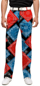 Loudmouth Golf Mens Pants - Bandanas