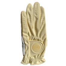 BELLA Womens Crystal Magnetic Fashion Golf Glove - Yellow