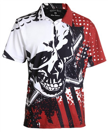 Tattoo Golf Mens Golf Polo - Blade