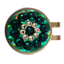Blingo Ball Markers: Emerald Reflective
