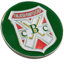 Caddyshack Golf Ball Marker & Hat Clip - Bushwood CC Logo