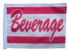 "Golf Cart Flags - BEVERAGE 11""x15"" Replacement Flag"