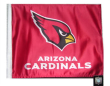 NFL Arizona Cardinals 11in x 15in Golf Cart or Car Flag