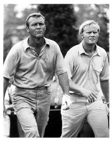 Jack Nicklaus and Arnold Palmer Unsigned 16x20 Photo UJNI-16b