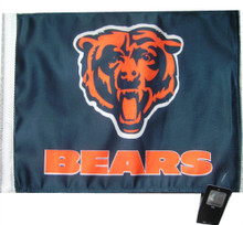NFL Chicago Bears 11in x 15in Golf Cart or Car Flag