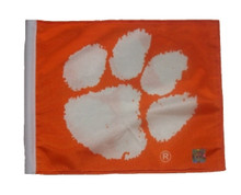 Clemson University 11in x 15in Golf Cart or Car Flag