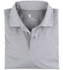 Fairway & Greene Men's Polo - Mini Stripe Tech Jersey