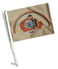 Car Flag with Pole - NAVAJO NATION