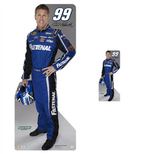 Lifesize & Miniature Cardboard Cutout Combo - Carl Edwards - 2013 #99 Fastenal