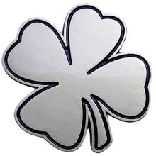 ReadyGolf - Lucky Charm Ball Marker & Hat Clip -  Four-Leaf Clover