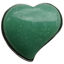 ReadyGolf - Gemstone Heart Shaped Ball Marker - Green Aventurine