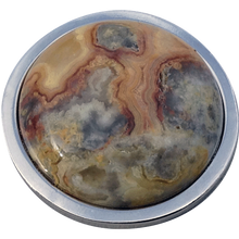 ReadyGolf - Gemstone Ball Marker - Crazy Lace Agate