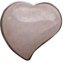 ReadyGolf - Gemstone Heart Shaped Ball Marker - Rose Quartz