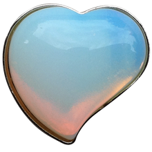 ReadyGolf - Gemstone Heart Shaped Ball Marker - Opalite