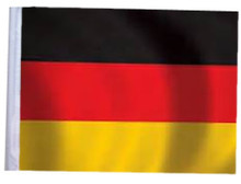 "Golf Cart Flags - GERMANY 11""x15"" Replacement Flag"
