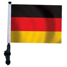 GERMANY 11x15 inch Golf Cart Flag with Pole