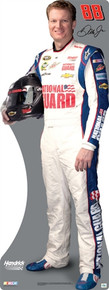 Lifesize Cardboard Cutout - Dale Earnhardt Jr. 2013 National Guard #88