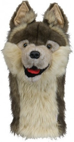 Daphne's HeadCovers: Brown Wolf Golf Club Cover
