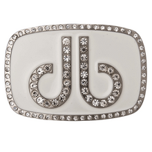 DB Diamond White Buckle by Druh Belts