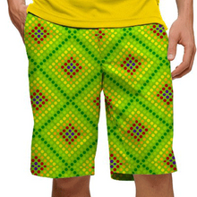Loudmouth Golf Mens Shorts - Dot Matrix